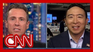 Cuomo presses Yang on policy: Why doesn't that offend capitalism?