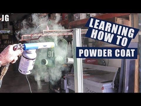Learning How to Powder Coat | JIMBO'S GARAGE
