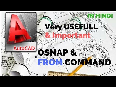 AutoCAD tutorials :