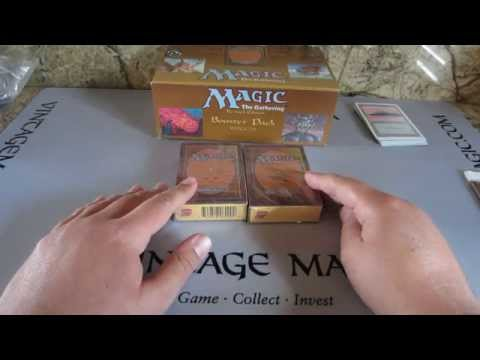 Alpha vs Beta booster How to tell the Difference MTG Magic the Gathering