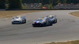 Pirelli World Challenge (SprintX GTS) 2018. Race 2 Portland International Raceway. Last Laps