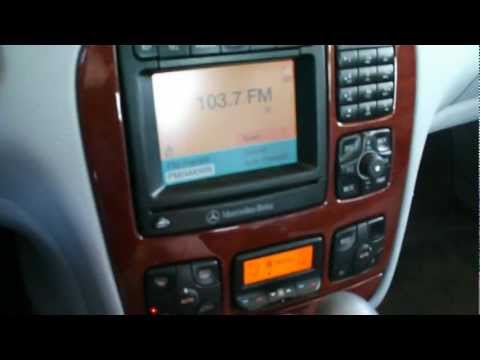 W220 s-class Comand stereo modifications and updates in action