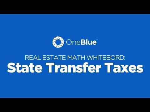 State Transfer Taxes - Florida Real Estate Math Whiteboard