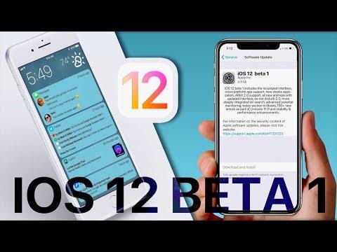 iOS 12 Beta 1 - все, что нужно знать!