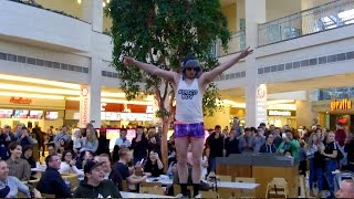 Discoboy attempts DnB Rave in Bluewater Shopping Centre for Majistrate Logan D Birthday Bash