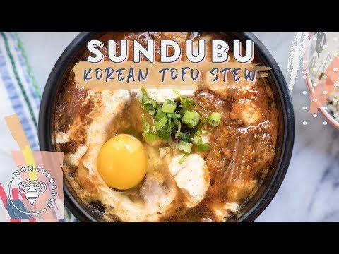 Soondubu Jjigae (Korean Tofu Stew) for #BuzyBeez