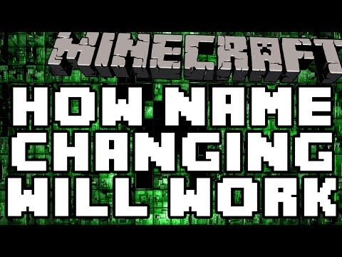 How Name Changing Will Work In Minecraft (My Thoughts On It Minecraft Name Changing)