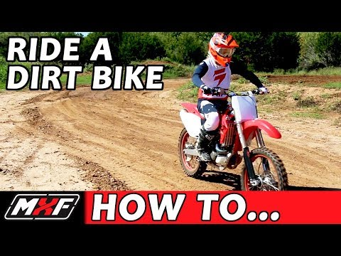 How To Ride a Dirt Bike for Beginners (with a Clutch) - 3 EASY STEPS