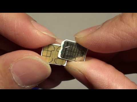 Samsung Galaxy S8: How to Cut SIM Card Down to Nano Size