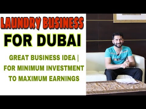 BUSINESS IDEA 4 DUBAI | LAUNDRY BUSINESS | MINIMUM INVESTMENT EARNING MAXIMUM | GREAT BUSINESS IDEA