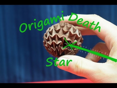 April Fools - How To Fold an Origami Death Star