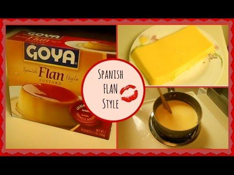 Como hacer un FLAN (SPANISH FLAN STYLE)
