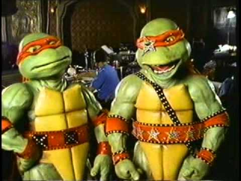 TMNT - The Making Of The Coming Out Of Their Shells Tour