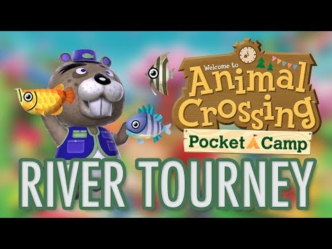 Animal Crossing RIVER FISHING TOURNEY