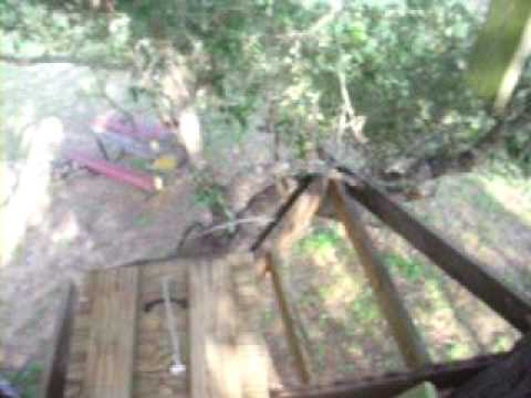 Rocky's Treehouse he is making without me