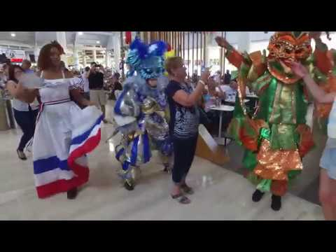 The Carnival begins when you land at Punta Cana International Airport