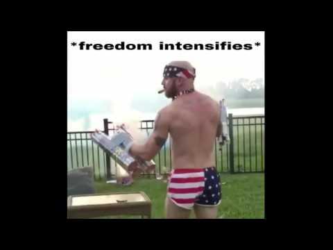 Most patriotic man alive