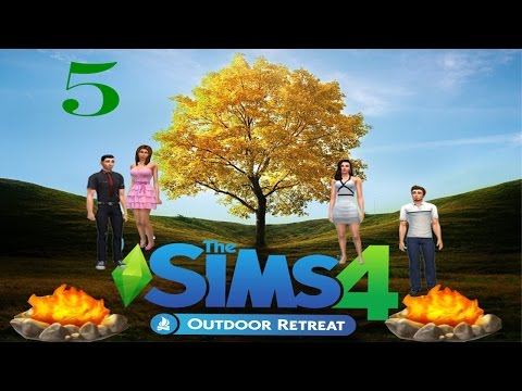 [Lets Play] The Sims 4 Outdoor Retreat: Part 5- Teenagers! They grow up so fast!!