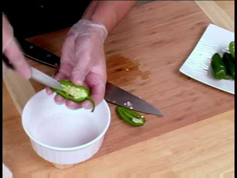 Cooking Tips : How to Prepare Jalapeno  Peppers for Stuffing