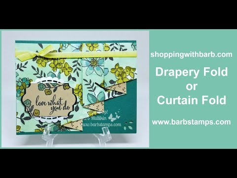 Drapery Fold or Curtain Fold with the Share What You Love DSP