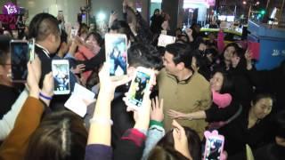 【3年前】獨家!李準基慶功粉絲慘摔  歐巴展現王子風範
