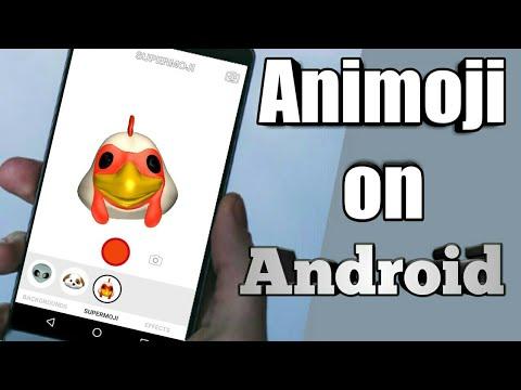 iPhone x animoji on Android 🔥🔥🔥