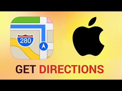 How to get Public Transportation Directions in Maps for iPhone