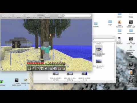 How to find minecraft screen shots (Mac)