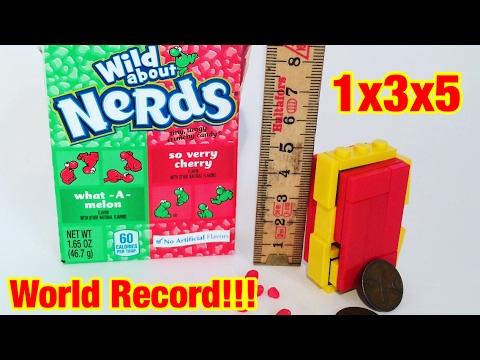 World Smallest Lego Candy Machine (World Record)