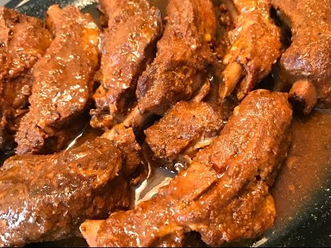 Slow Cooker Ribs - Easy Fall Off the Bone Recipe [Tender Juicy Crockpot Ribs]