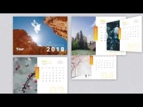 Calendar 2018 Template!!!