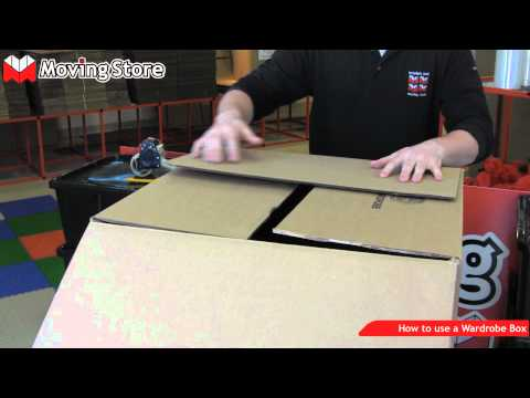 How to build and use a wardrobe box