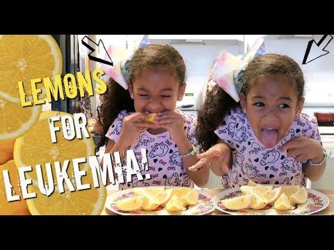 LEMONS FOR LEUKEMIA CHALLENGE!!!! *HILARIOUS*