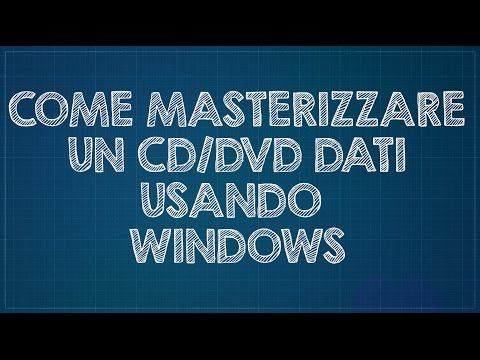 Come masterizzare un CD/DVD di dati usando Windows 7/8/10