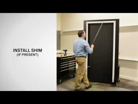 Panel Replacement on  Andersen® 10 Series Ventilating / EMCO® 400 Series Self-Storing Storm Doors