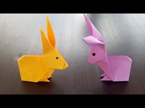 How To Make An Origami Bunny Rabbit