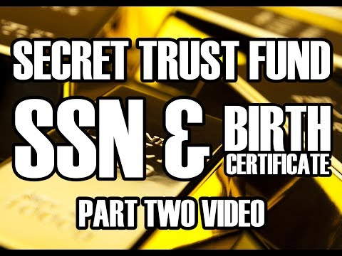 Secret Trust Fund - SSN & Birth Certificate - Heather Tucci - How To Stop Reversals- Part 2