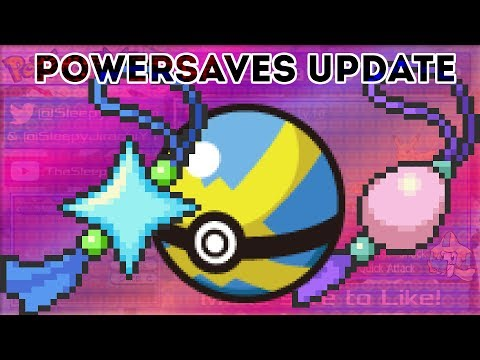 PowerSaves Update: Shiny Charm, Oval Charm and Quick Balls