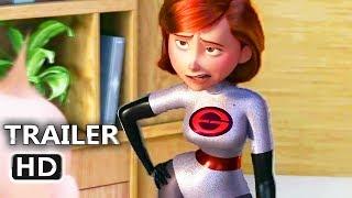 "INCREDIBLES 2 ""Elastigirl New Suit"" Trailer (2018) Disney Movie HD"