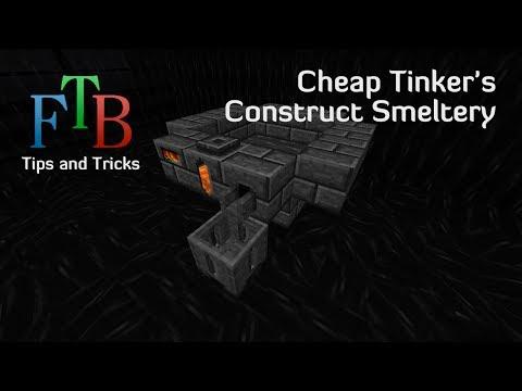 β070 Feed The Beast Tips and Tricks E21 - Cheap Tinker's Construct Smeltery
