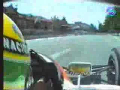 Senna´s qualifying lap at Adelaide