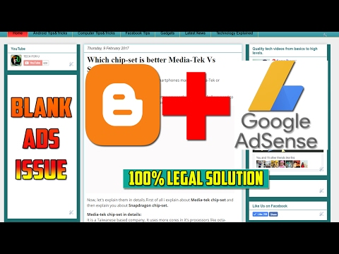 Adsense Ads Not Showing in Blogger Solution(100% legal)   Fix blank space on Ads area on blog