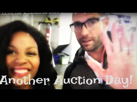 Another Auto Auction Day! #Licensed Car Dealer Life Vlog Blog  #Flipper Get to Flipping