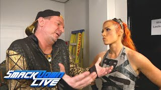 Becky Lynch & James Ellsworth meet before their battle of the sexes: SmackDown LIVE, Nov. 7, 2017