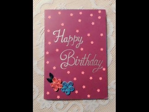 BIRTHDAY GIFT IDEA||HANDMADE CARD #CARD 1