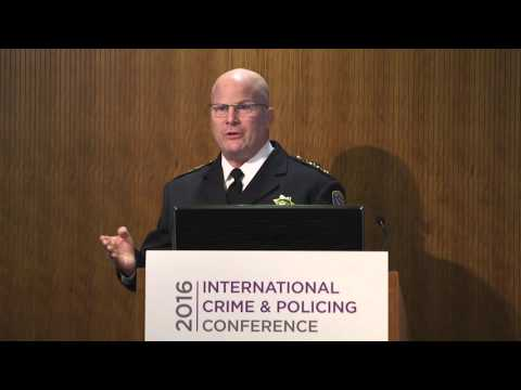 ICPC 2016: Greg Suhr Chief SFPD City and County of San Francisco Police Department
