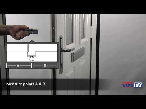 How to upgrade an existing uPVC eurocylinder (door lock) to a high security kitemarked one