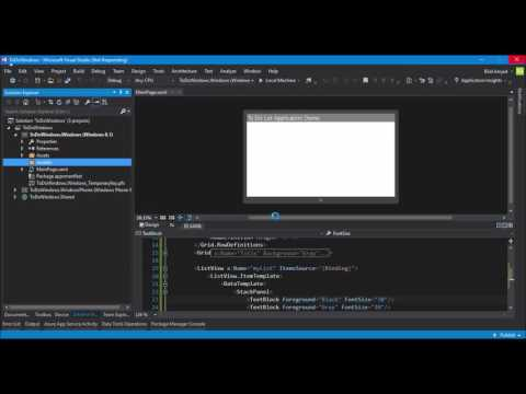 3-tier Architecture using MVC, Web API, UWP & Microsoft Azure - Part 3 - Urdu/Hindi Language