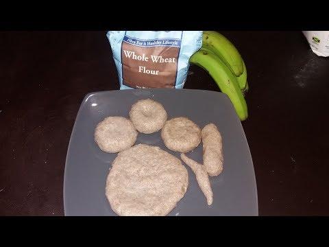 Green Banana Whole Wheat Dumpling
