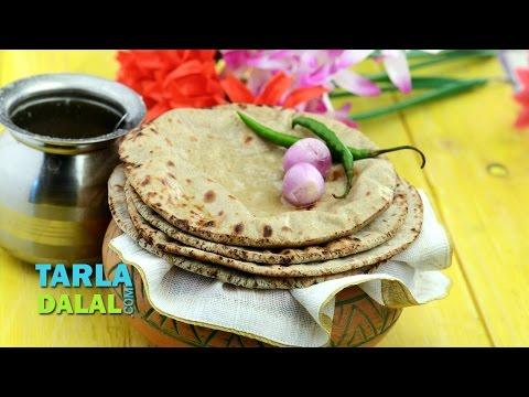 बाजरा रोटी (Bajra Roti) by Tarla Dalal